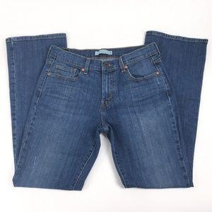 Levis 515 Jeans Sz 8 Embellished Regular Fit Boot